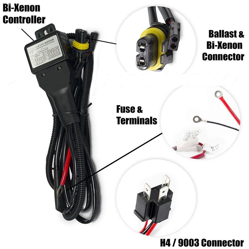 H4 Bi Xenon Hid Wiring Diagram Mx 6 - Wiring Diagrams H Hid Wiring Diagram on