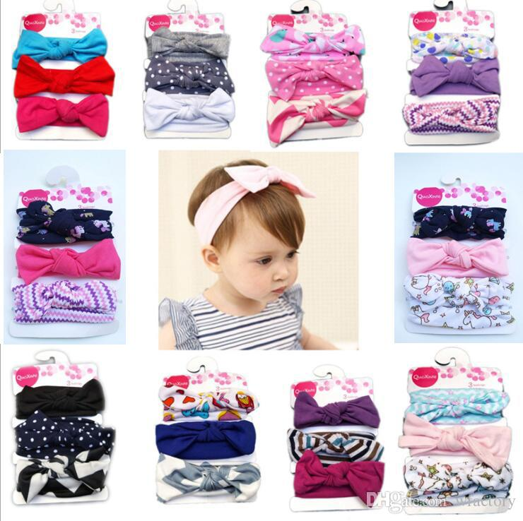 2019 Lovely Bowknot Baby Headband Elastic Head Bands For Girls Hair Band  Jewel Accessories From Wfactory 107787528b85