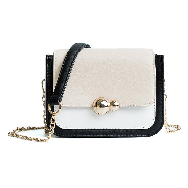e26e305577c LUCDO Fashion Women Bag Mini Leather Chains Messenger Bags Ladies Crossbody  Bags Design Female Small Flap Bag Sac A Main Femme