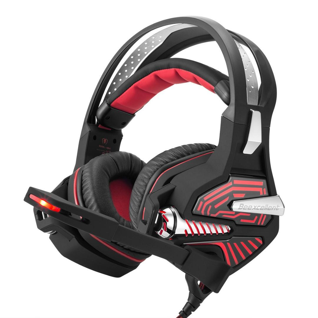 Acquista Beexcellent USB Gaming Headset GM 9 7.1 Surround Bass Sound Cuffie  Auricolari Over Ear Con Microfono 4c0f15492a3d
