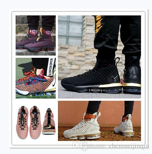 best cheap f38e4 b567a 2019 lebron 15 THRU LMTD Starting Oreo FRESH BRED What the XVI 16 james  Multicolor Basketball Shoes LeBRon 16s Wolf Grey Sports