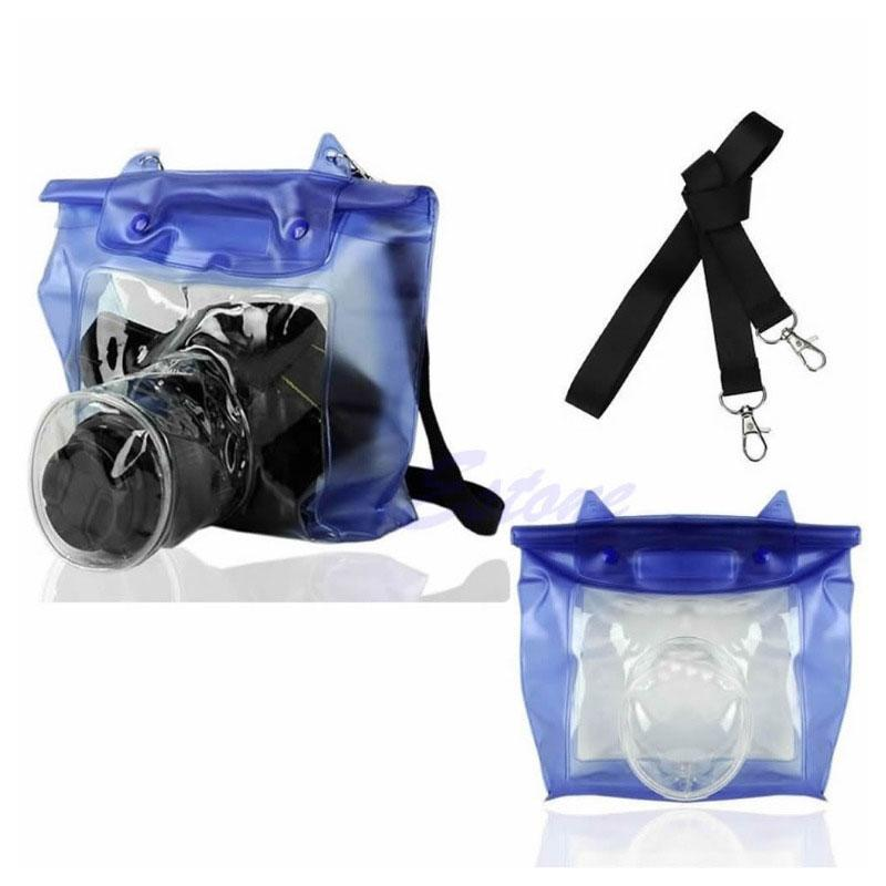 Waterproof DSLR SLR Camera Underwater Housing Case Pouch Dry Bag For For