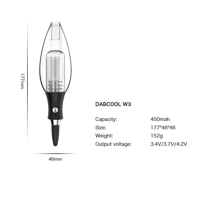 Аутентичные Exseed Dabcool W3 Мини Dab Rig Wax Oil Concentrate Kit В.В. 400mAh Батарея стекла Фильтр Bubbler ENail Испаритель Hot 100% натуральная