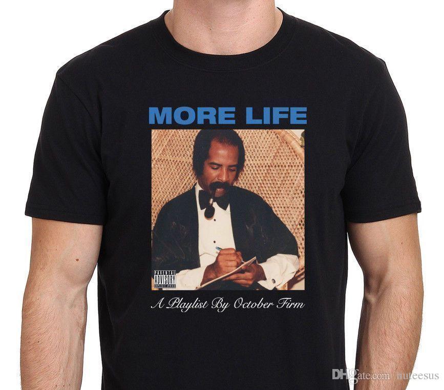 c2c7e3b8b Compre Drake MAIS VIDA Uma Lista De Reprodução Pela Camiseta Firme De  Outubro De Nuteesus, $10.52 | Pt.Dhgate.Com
