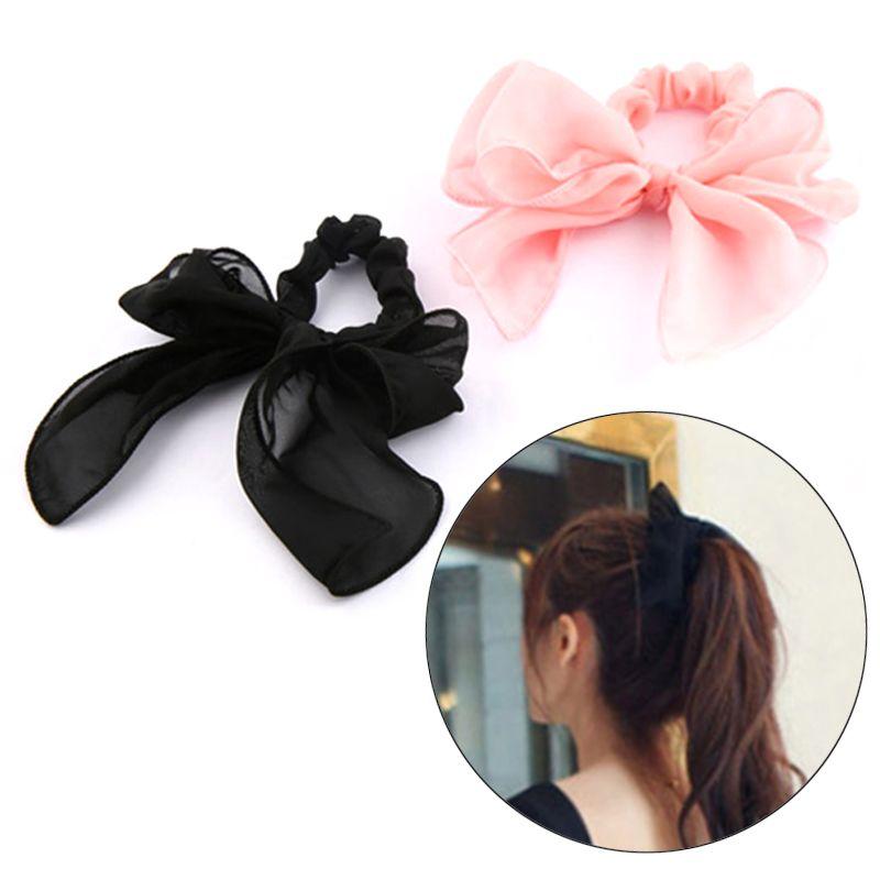 aab1332c17d LNRRABC Fashion Girl s Big Bow Knot Hair Band Elastic Hair Bow Accessories  Ring Cotton Headband Head Wrap Headwear Hair Accessories Cheap Hair  Accessories ...