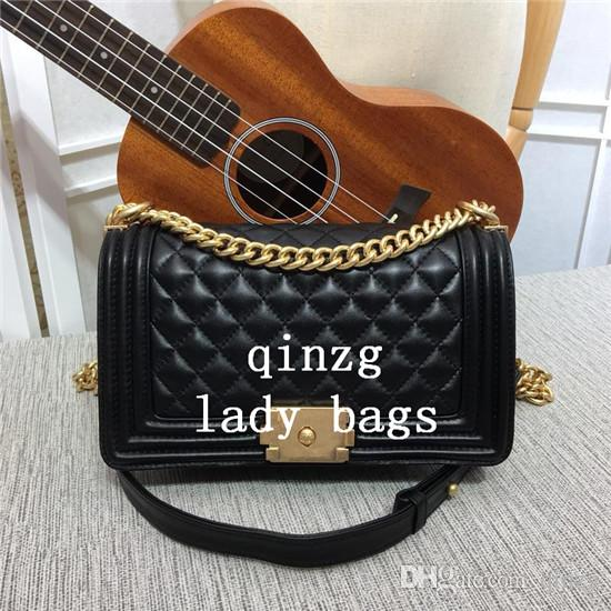 07d9aca0e4 Classic Flag Women s Plaid Chain Bag Ladies Luxury High Quality ...