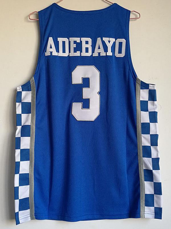 4fb26eb0442 2019 Cheap Wholesale Bam Adebayo Jersey Kentucky Wildcats Blue White Sewn  Customize Any Name Number MEN WOMEN YOUTH Basketball Jersey From  Custom nbajersey