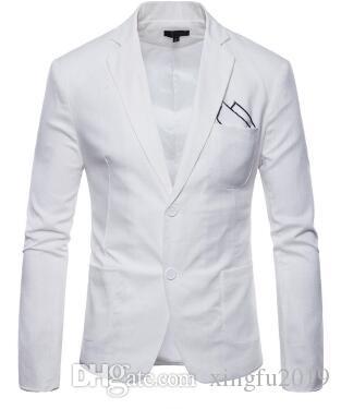 364b4d28f48 2019 2019 Mens Blazer Brand Clothing Casual Suit Slim Jacket Single Button  Corduroy Blazer Men Dress Suits Terno Masculino Plus Size From Xingfu2019