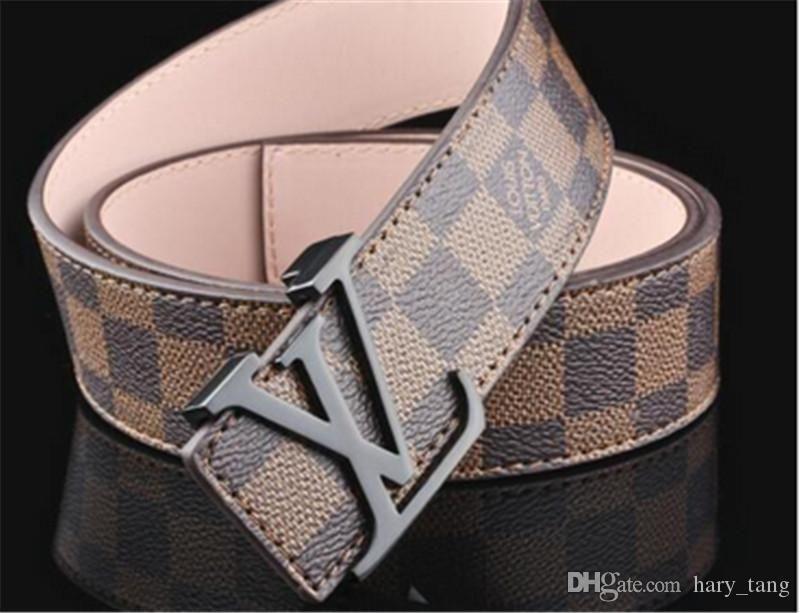 2b3e59219 2017 New Designer Brand Men S Belts Man Fashion Strap With Metal Buckle Cinto  Feminino Ceinture Male Waist Strap 105cm 125cm Sauna Belt Mens Belts From  ...