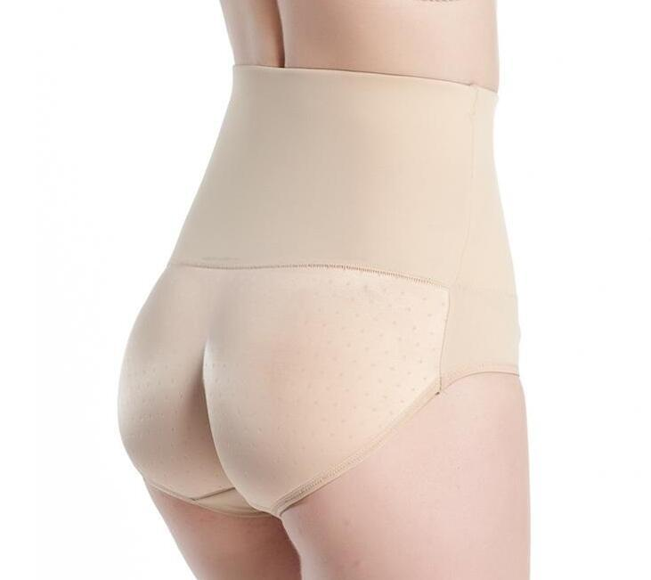3ef31dd35 2019 Sexy Panty Knickers Buttock Backside Silicone Bum Padded Butt Enhancer  Female Hip Up Underwear High Waist For Women Postnatal From Haodei