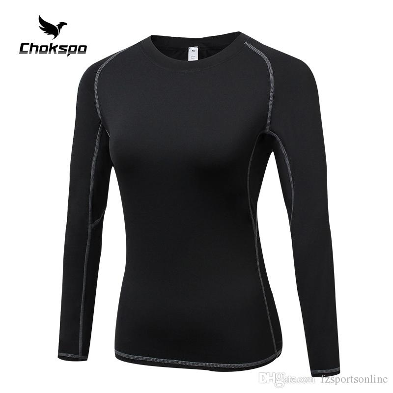 2e0fc78abbdc 2019 Yoga Shirts Breathable Yoga Wear Full Sleeves Top Women Pure Color  Clothes Women For Running Exercising Fitness #103949 From Fzsportsonline,  ...