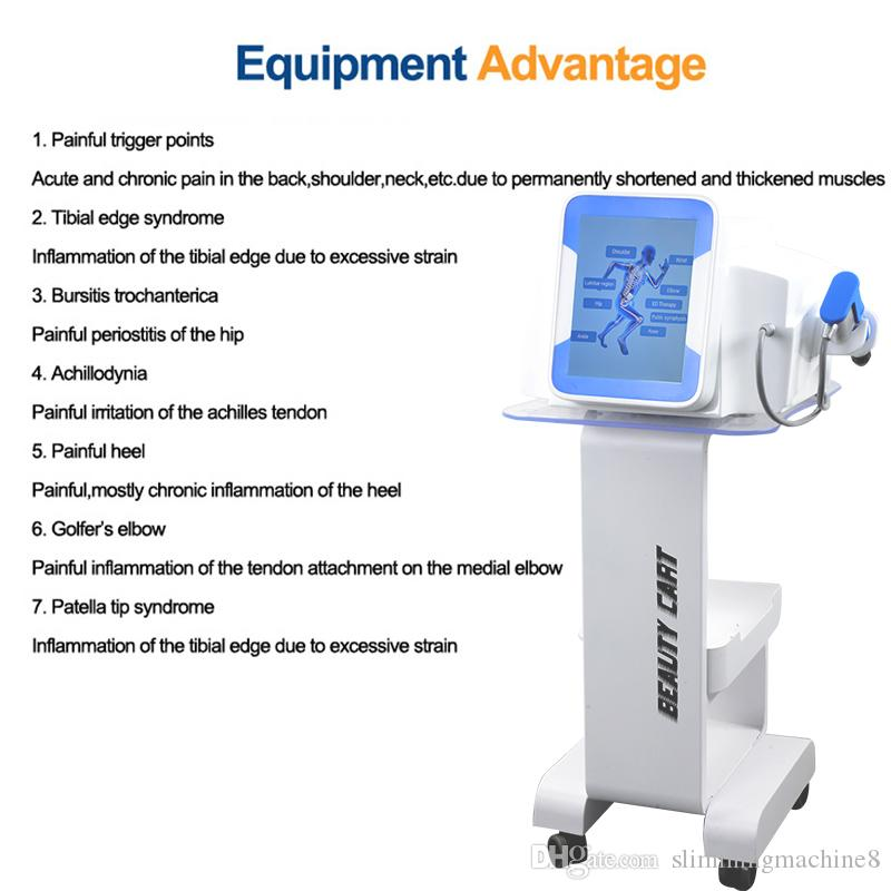 High Quality Physical Shock Wave System Pain Therapy Machine For Pain Relief Pneumatic Shockwave Treatment ED treatment Device