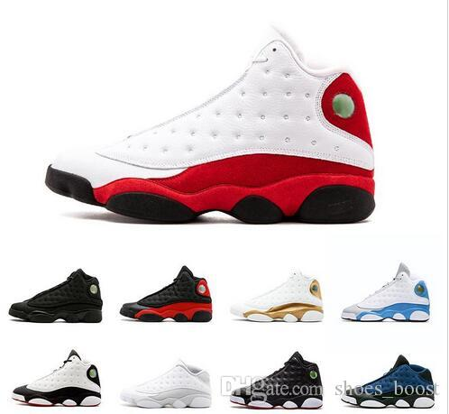 e244d0ce1bd6ce 2018 Top Quality Wholesale Cheap NEW 13 13s Mens Basketball Shoes Sneakers  Women Sports Trainers Running Shoes For Men Designer Size 5.5 13 Shoes  Jordans ...