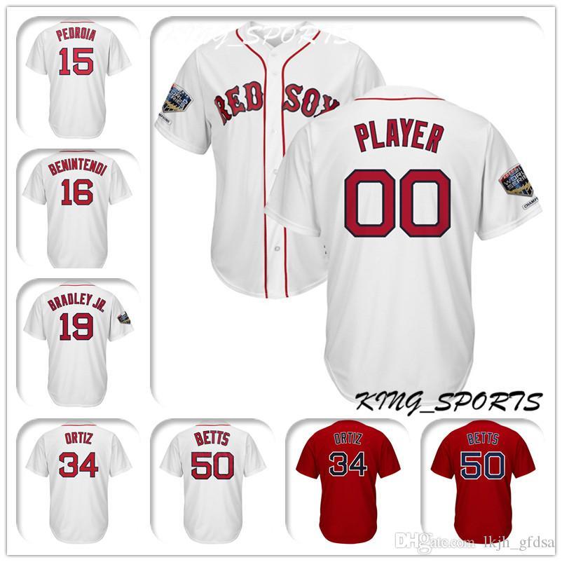 Boston Red Sox Majestic White Cool Base Custom Baseball Jersey 32 ... a1aee3b0092