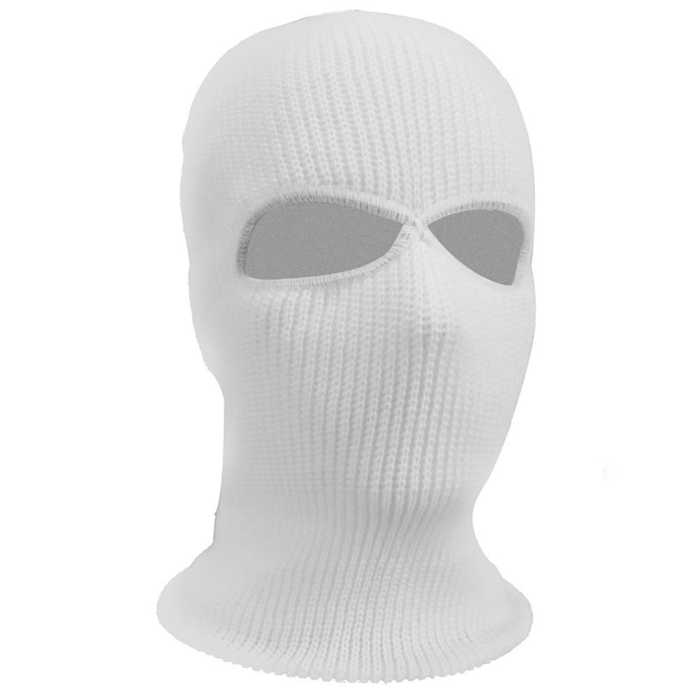 New Army Tactical Winter Warm Ski Cycling 2 Hole Balaclava Hood Cap Full Face Mask
