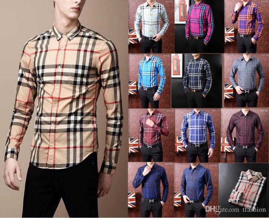 Rand Men s Business Casual Dress Shirt Men Short Sleeve Striped Slim ... faa9b1d56
