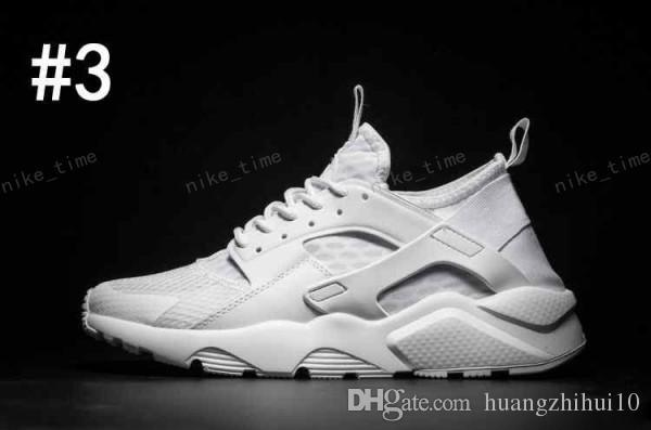 0b9531b5b8df Cheap Air Huarache 2 II Ultra Classical All White Huarache Shoes Men Women  Sneakers Running Shoes Size 36 45 Online For Sale Deck Shoes Mens Boat Shoes  From ...