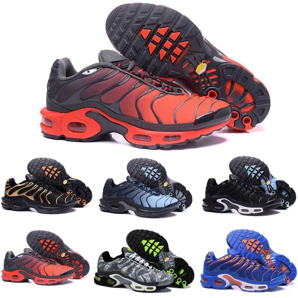 huge discount be01f 32ab2 Großhandel Nike TN Plus Air Max Airmax Top Billig Herren Damenschuhe  Rainbow Green TN Ultra Sports Requin Sneakers Air Caushion Laufschuhe 40 46  Von ...