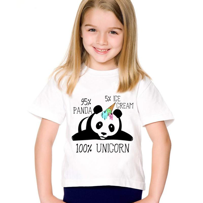bdde5df6757eb 2019 Children Print Surprised Ice Cream Dabbing Unicorn Panda Funny T  Shirts Kids Summer Tees Boys/Girls Tops Baby Clothes,HKP5066 From  Victorys07, ...