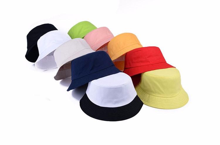 98e78539a2f !! Solid Color Bucket Hats For Men Panama Women Fishing Hat Z 1570 Beach Hat  Church Hats From Gaiming