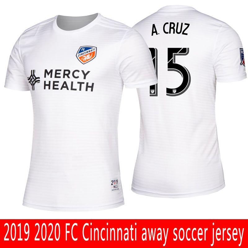 f87d09928 2019 2019 MLS FC Cincinnati Soccer Jersey Top Quality Adult GARZA ADI  BERTONE ACRUZ WASTON FC Cincinnati Away Football Jersey Men S Shirt From  Disini1314
