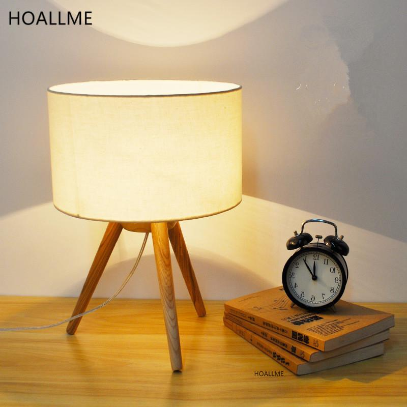 Desk Lamps Honesty Creative Simple Table Lamp Bedroom Study Light Desk Bedside Lamps E27 Table Lights Indoor Lighting Night Light Lamps & Shades