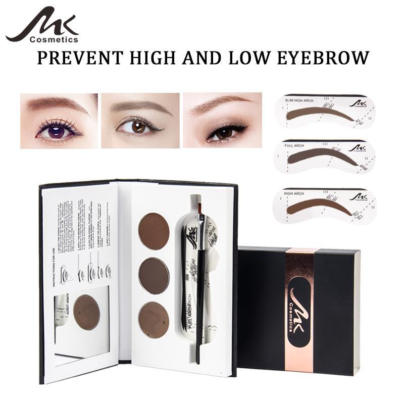 Mk Eyebrow Powder Palette Cosmetic Brand Eye Brow Enhancer