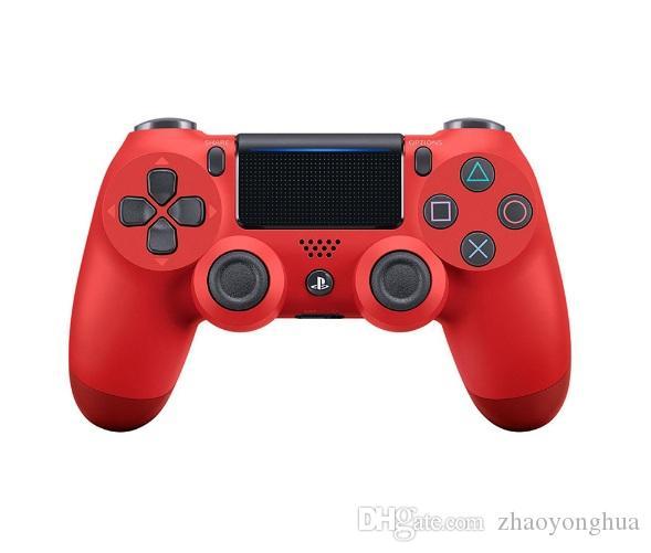 أعلى جودة PS4 لعبة تحكم لاسلكي للبلاي ستيشن 4 PS4 لعبة وحدة تحكم غمبد المقود المالي Joypad لألعاب الفيديو مع صندوق البيع بالتجزئة
