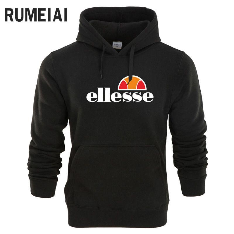 44c976565d Ellesse hoodie sweatshirts Tide brand men and women casual hooded sweater  Mens white designer hoodie sweatshirt sweat coat