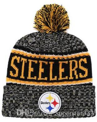 2019 Winter Pittsburgh Beanie PIT Hats Men Women Knitted Beanie Wool Hat  Man Sport Knit Hat Bonnet Beanies Warm Baseball Cap Teal Tie Peach Tie From  ... 9bd28dbe30a