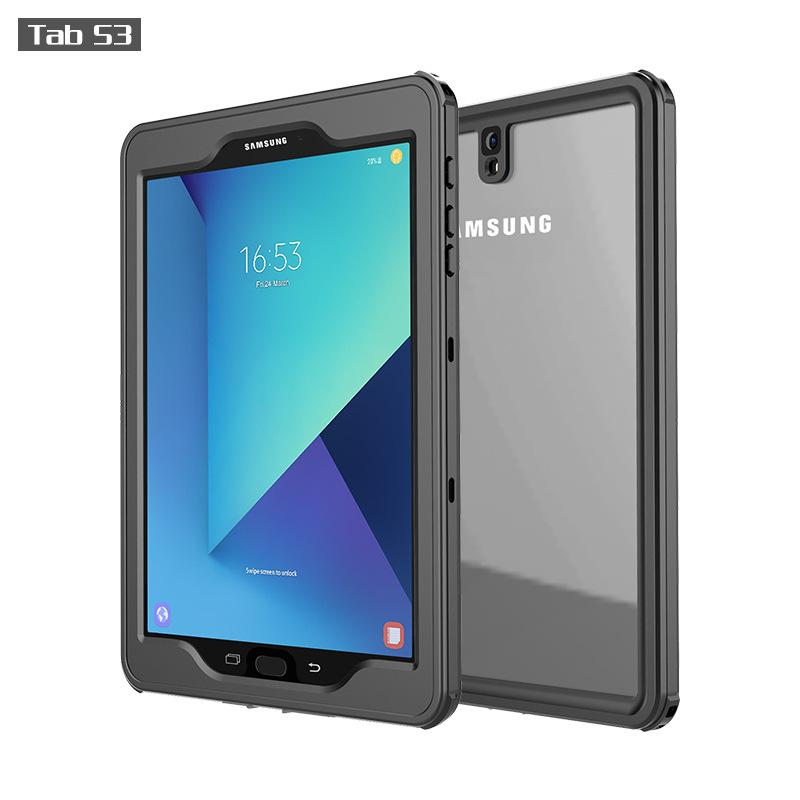 check out aa2d3 fa116 Waterproof Case for Samsung Tab S3 Case 9.7inch Rugged Sleek Transparent  Cover with Built in Screen Protector