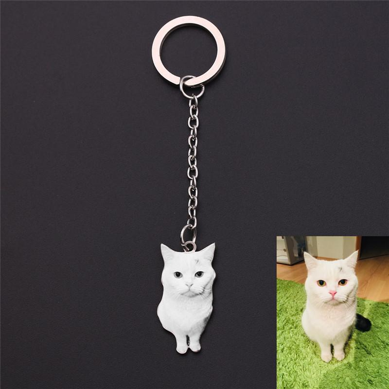 Custom Pet Photo Keychain Stainless Steel Dog Tag Key Chain For Women Men  Memorial Best Christmas Gift Key Holder Key Chains From Copy04 093f5bfbc