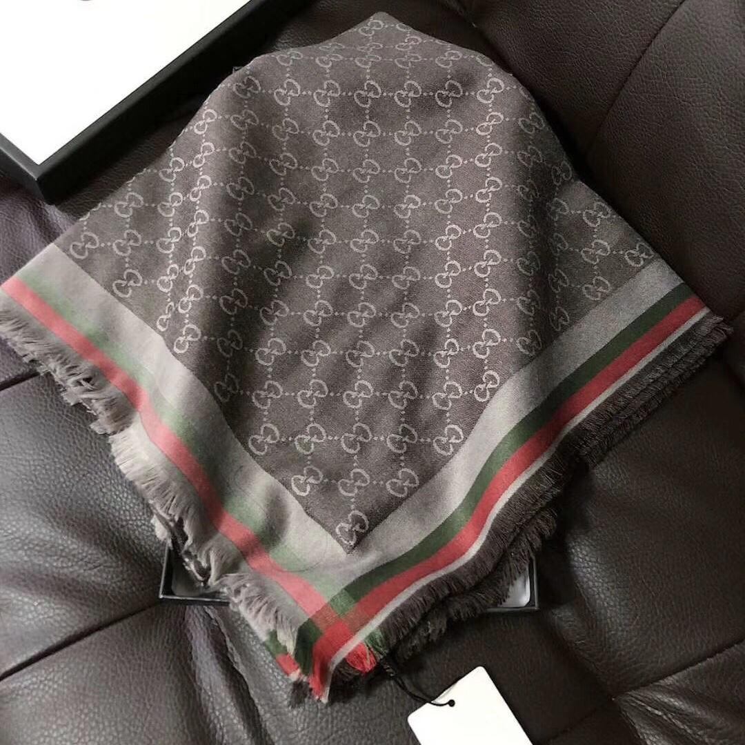 Light Luxury Temperament Silk Cotton 140 Large Square Scarf Large Air Conditioning Shawl High-end Atmosphere Double-sided Color Wear