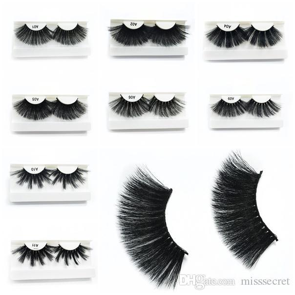 15292d8834c New 25MM 3D False Eyelashes Big Dramatic Eyelash 3D Protein Silk Eyelash  Soft Natural Thick Fake Eyelashes Eye Lashes Extension Makeup Tool Eyelash  Curler ...
