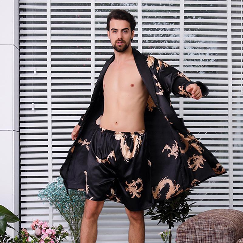 2018 Sexy Male Pajamas Men Pajama Shorts Pijama Hombre 8159 Men's Sleep & Lounge Underwear & Sleepwears