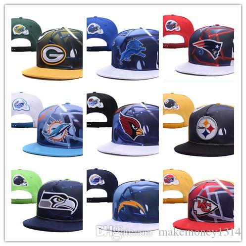 d5d6d0202c5 2019 2019 Top Sale Snapback Caps Football Adjustable All Team Baseball Hats  Women Men Snapbacks High Quality Players Sports From Makemoney1314