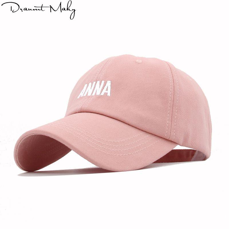 ea1088e67bae1 Anime Embroidery ANNA Men S Baseball Cap Hats Women Snapback Cap Wholesale  Dad Hat Bone Gorro Streetwear Trucker Hip Hop New Flexfit Caps Cap Store  From ...