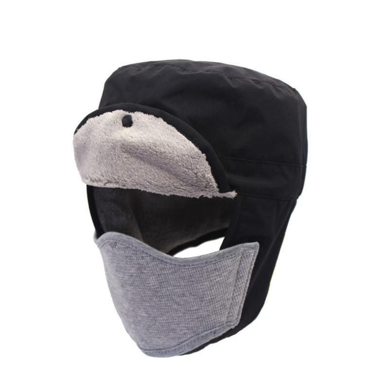 2019 Detachable Mask Ushanka Parent Child Code Autumn And Winter Waterproof  Rainproof Snow Proof Keep Warm Children Hat From Lahong b1f41ce528a