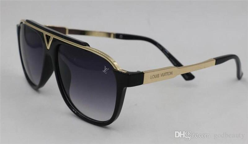 3bfd24e7e5 Louis Vuitton LV Sunglasses Popular Fashion Men Designer Sunglasses ...