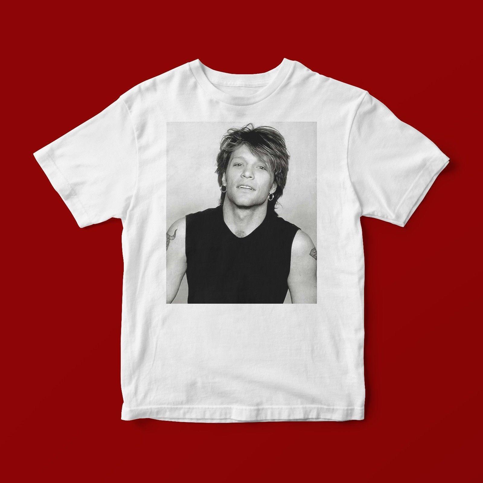 becee3dc BON JOVI T SHIRT UNISEX 256 Short Sleeve Plus Size T Shirt Cool Tee Shirts  Cheap Business Tee Shirts Printing From Asisccup, $16.24| DHgate.Com