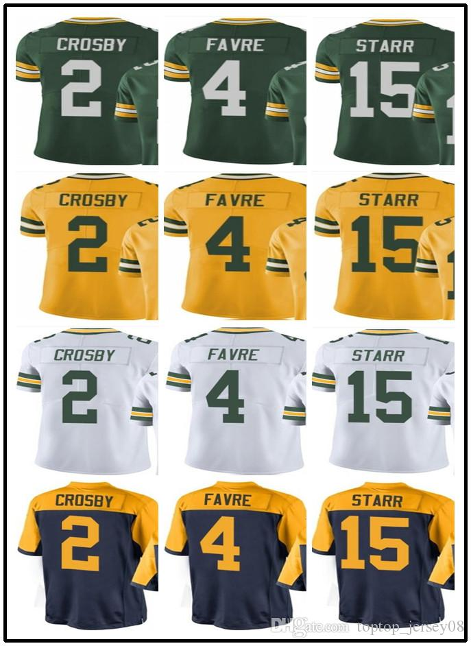 Customized Green Bay Packers Sport Rugby Clothing Men WOMEN 4 Brett ... 6a54e1c8f