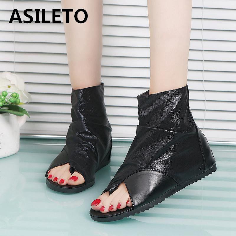 Sapatos Femme931 Toe Para Mujer Asileto Primavera Sandalias Gladiador Baixos As Peep Mulheres Femininas Verão Bottines Botas Sandálias rsdtChQ