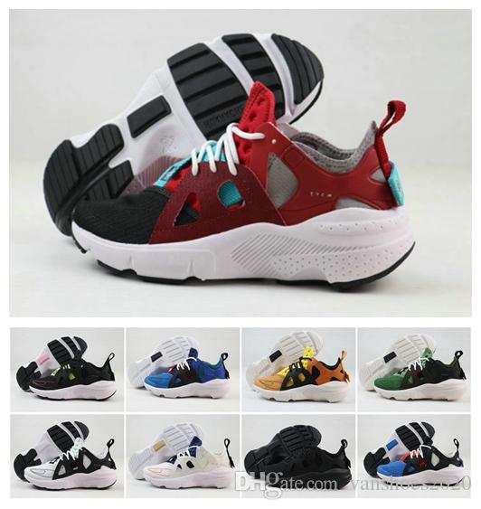 Huarache Type Mens Running Shoes For Top quality Red White Black Grey Yellow Huaraches Zapatos Fashion Sports Designer Sneakers Size 40-46