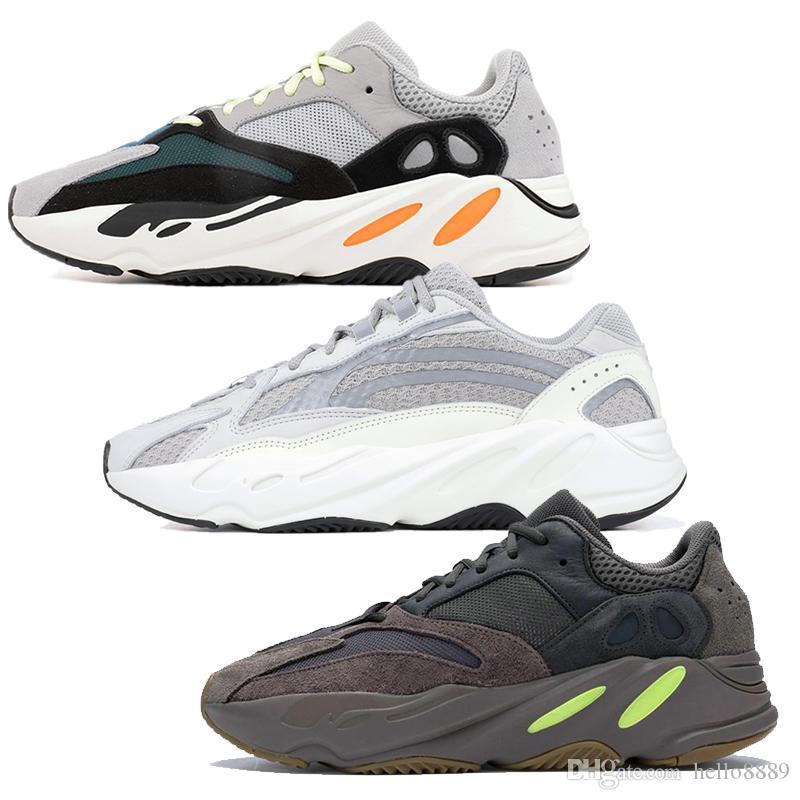 eae92f397 2019 2019 Wave Runner 700 EE9614 Kanye West Sport Running Shoes Men Women  Stitching Color 700S V2 Luxury Designer Athletics Brand Sneakers 36 45 From  ...