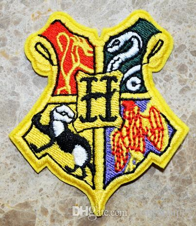 Harry Hogwarts School of Witchcraft and Wizardry Coat of Arms Iron On Patches, sew on patch,Appliques, Made of Cloth