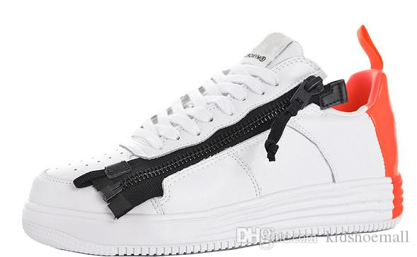 size 40 15371 98d59 Mens ACRONYM  Lunar Force 1 SP Sneakers for Male Sneaker Womens  Skateboarding Shoes Female Skateboard Chaussures Boys Forces Shoe Girls Mens  ACRONYM Lunar ...
