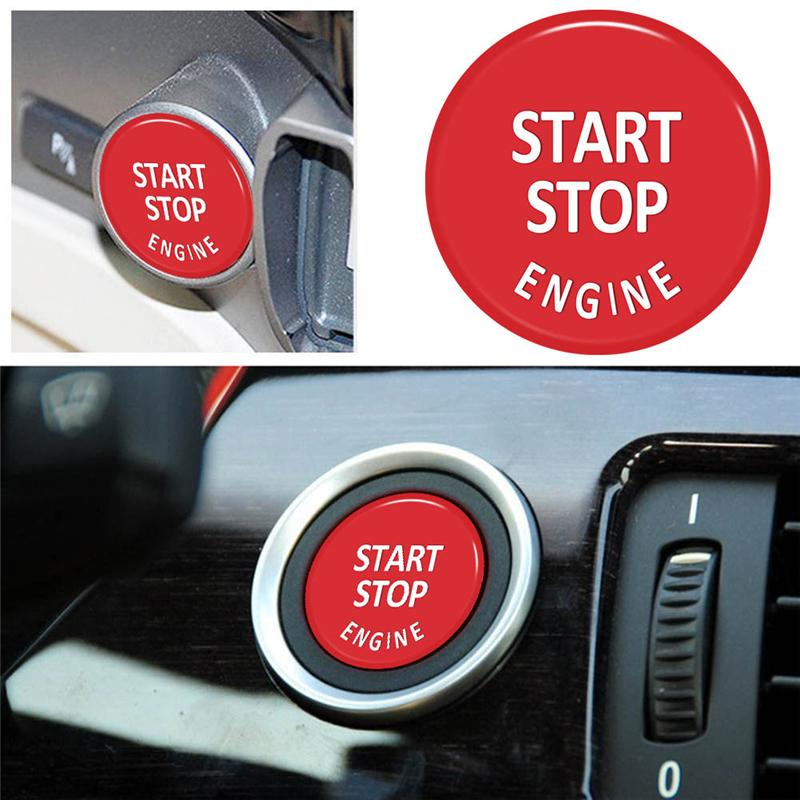 Car Engine Start Button Replace Cover Stop Switch Key Decor For Bmw X1 E84  X3 E83 X5 E70 X6 E71 Z4 E89 3 5 Series E90 E91 E60