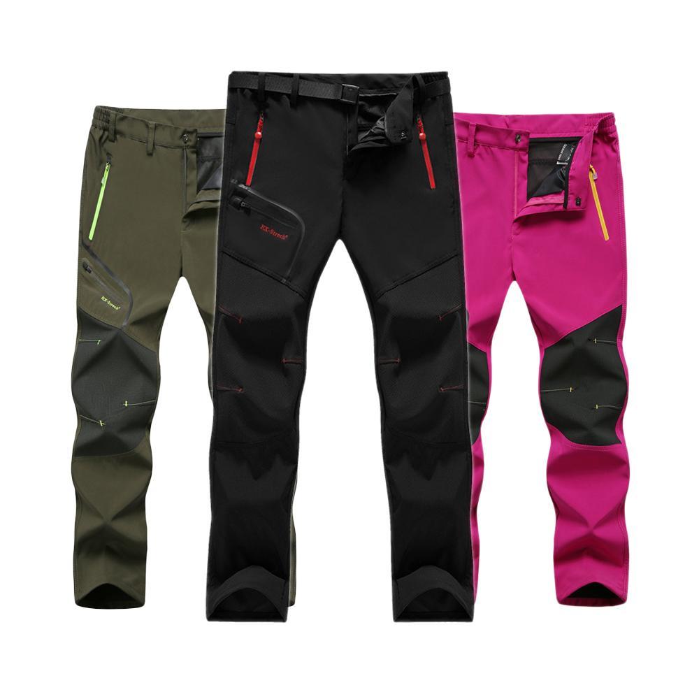 26369043a22 Facecozy Spring Summer Plus Men s Waterproof Hiking Fishing Pants ...