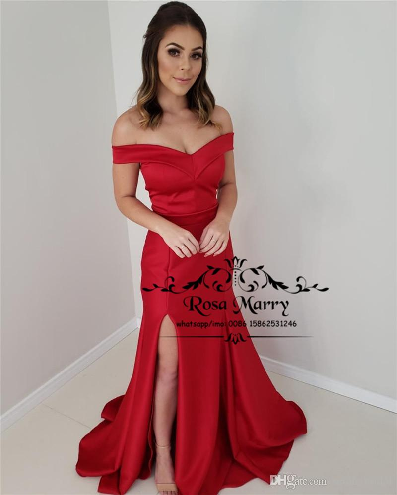 Sexy Red Plus Size Mermaid Prom Dresses 2