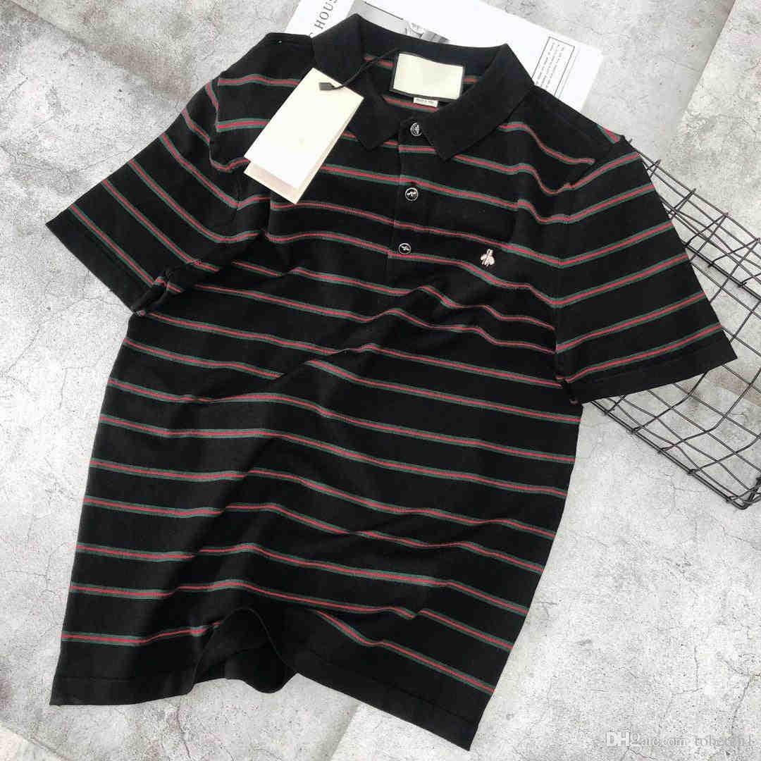 4ce8685b 2019 Summer New Brand Designer Design Men And Women Color Striped ...